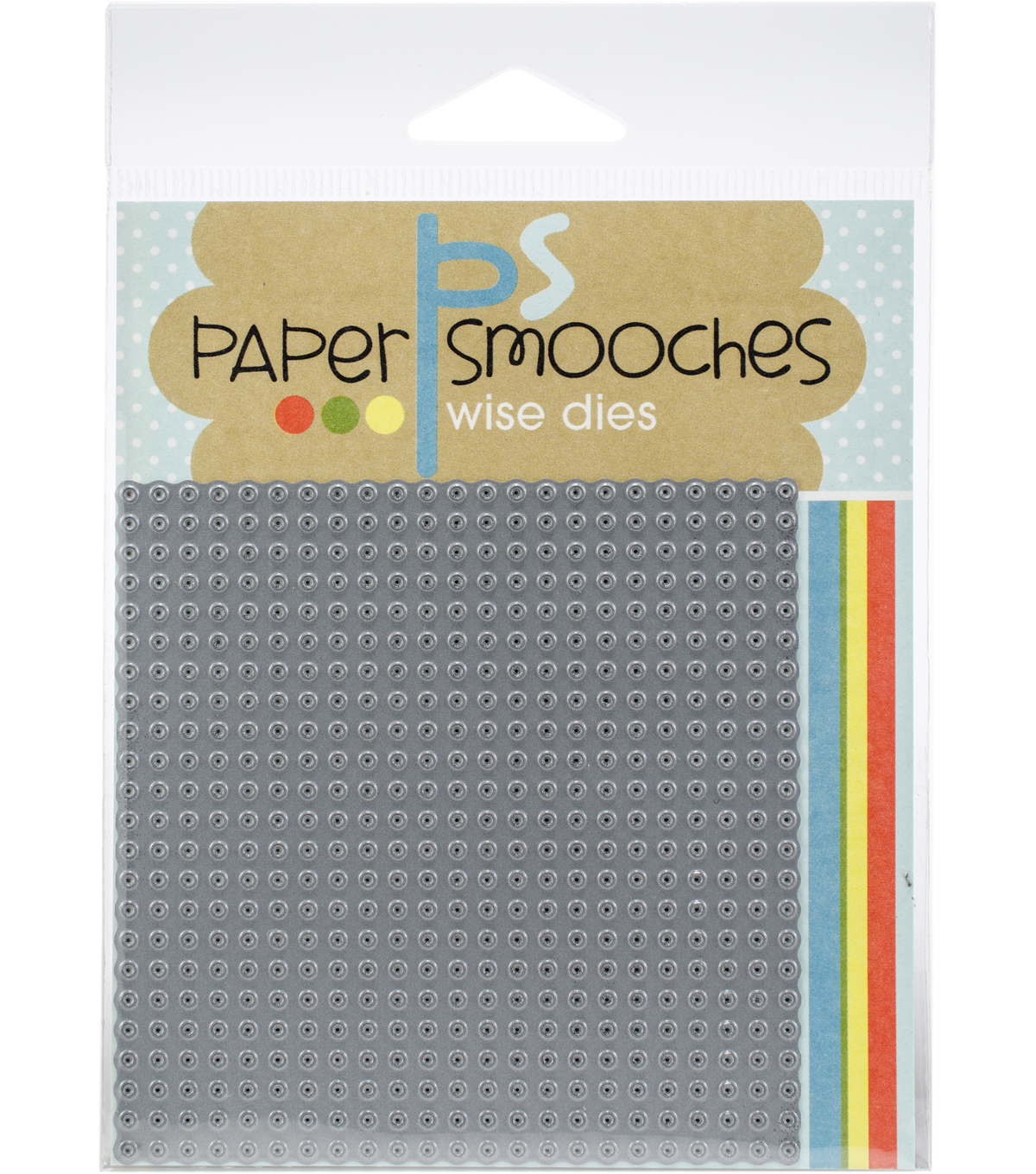 Paper Smooches 3.5\u0027\u0027x3.5\u0027\u0027 Die-Stitched Square