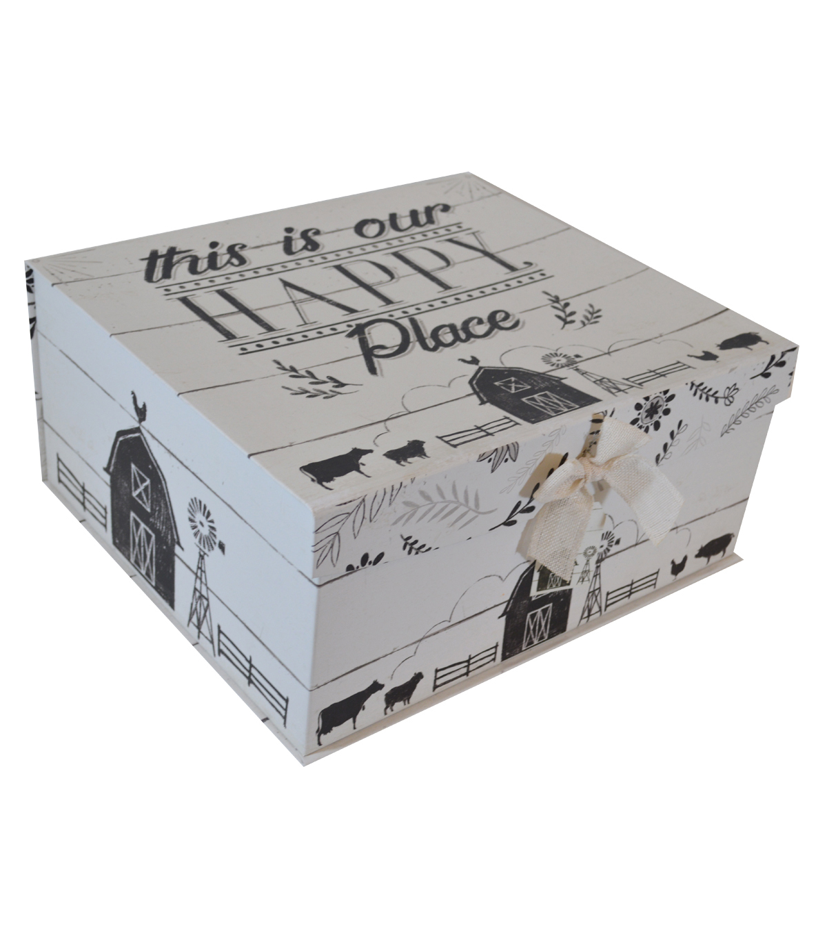 Organizing Essentials X-Large Fliptop Storage Box-Country Thoughts