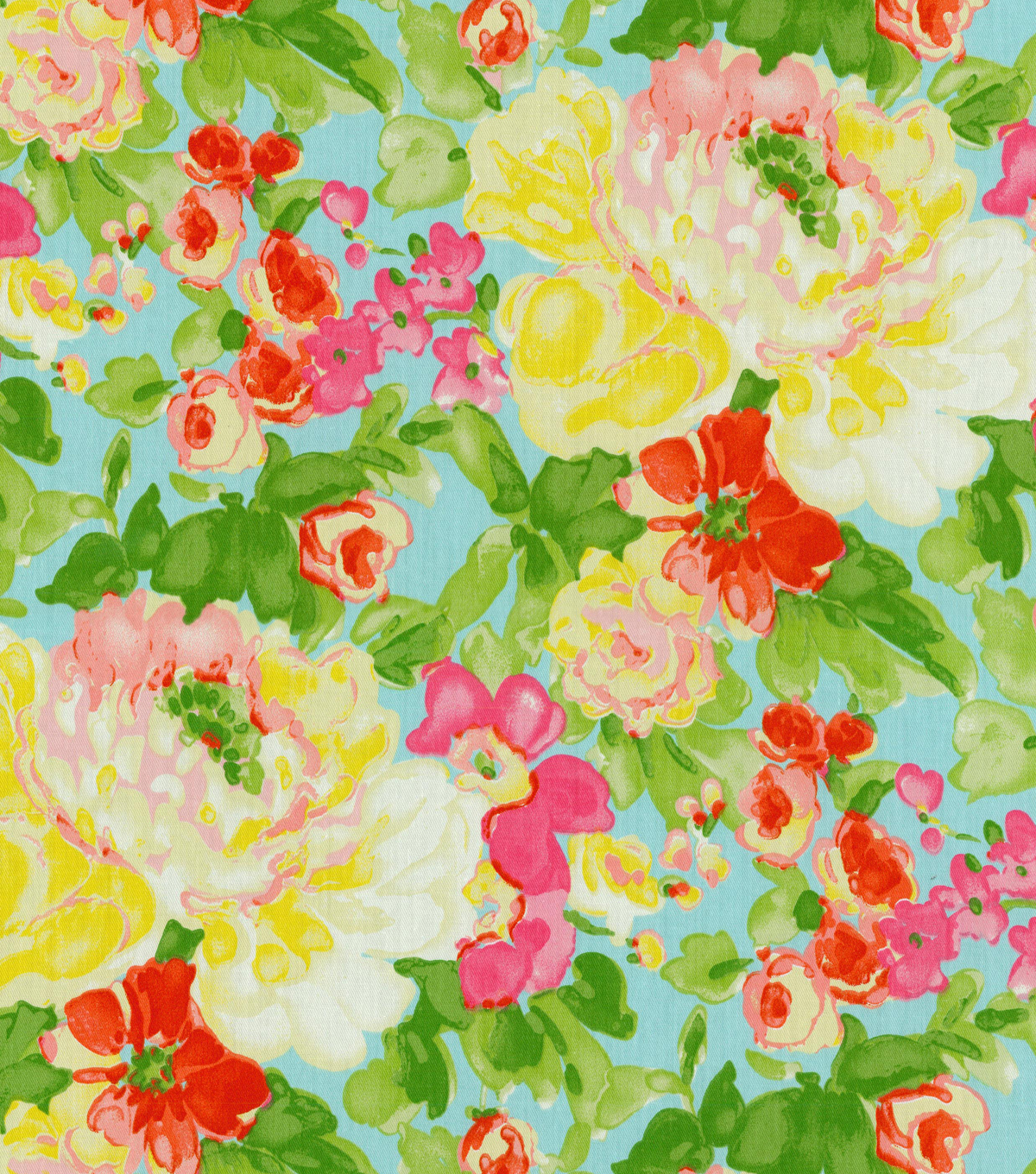 Waverly Print Fabric 54\u0022-Blossom Boutique/Aurora