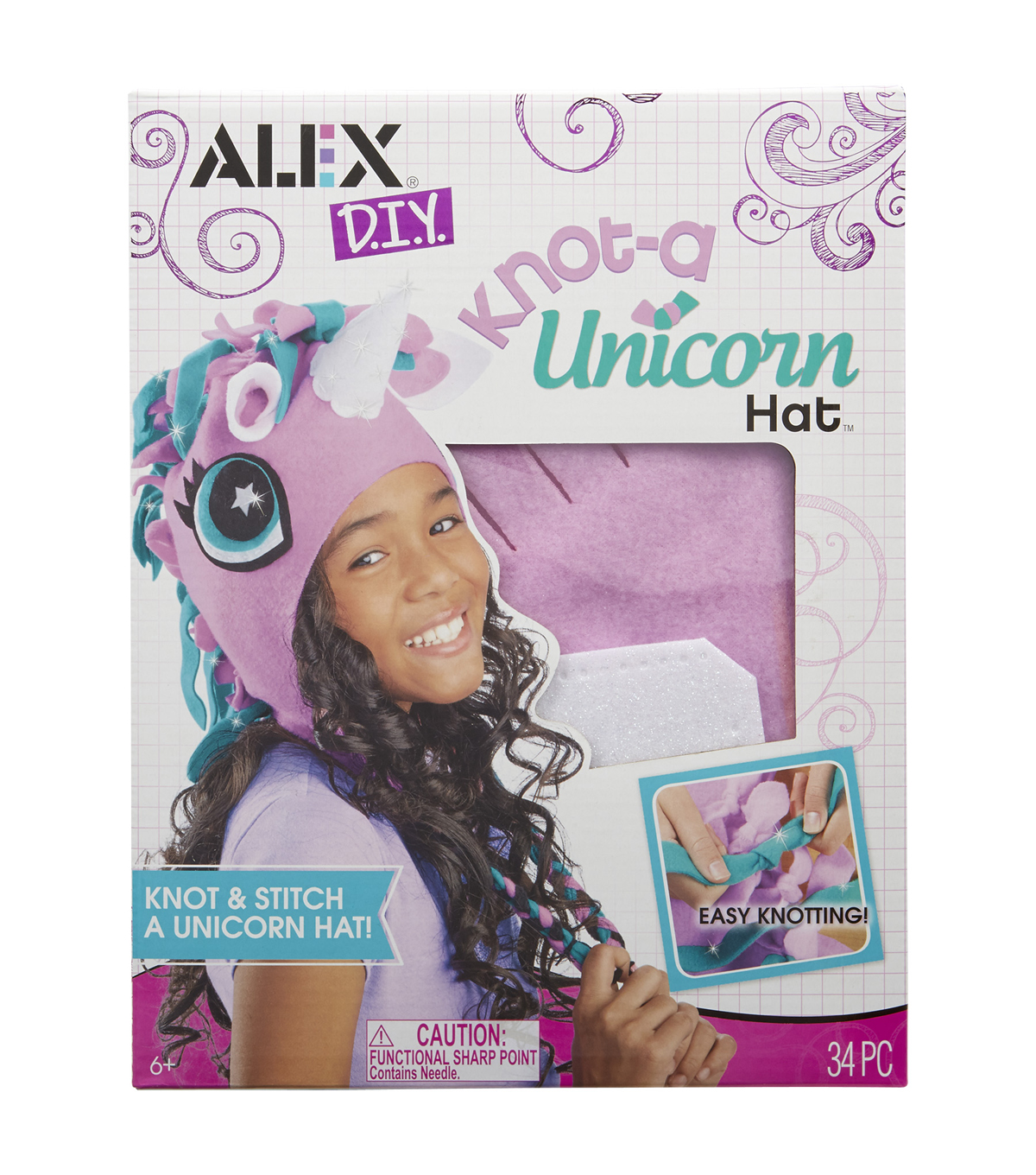 Alex Toys DIY Knot A Unicorn Hat