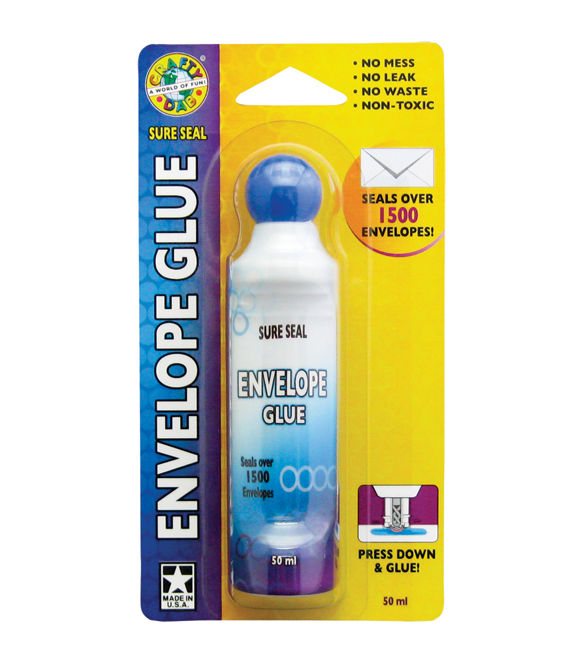 Envelope Sealer Carded 50ml-