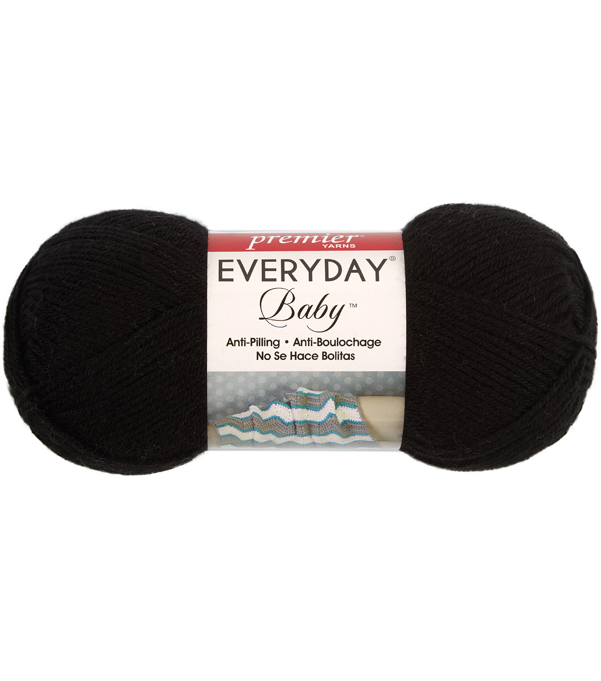 Premier Yarns Everyday Baby Yarn, Black