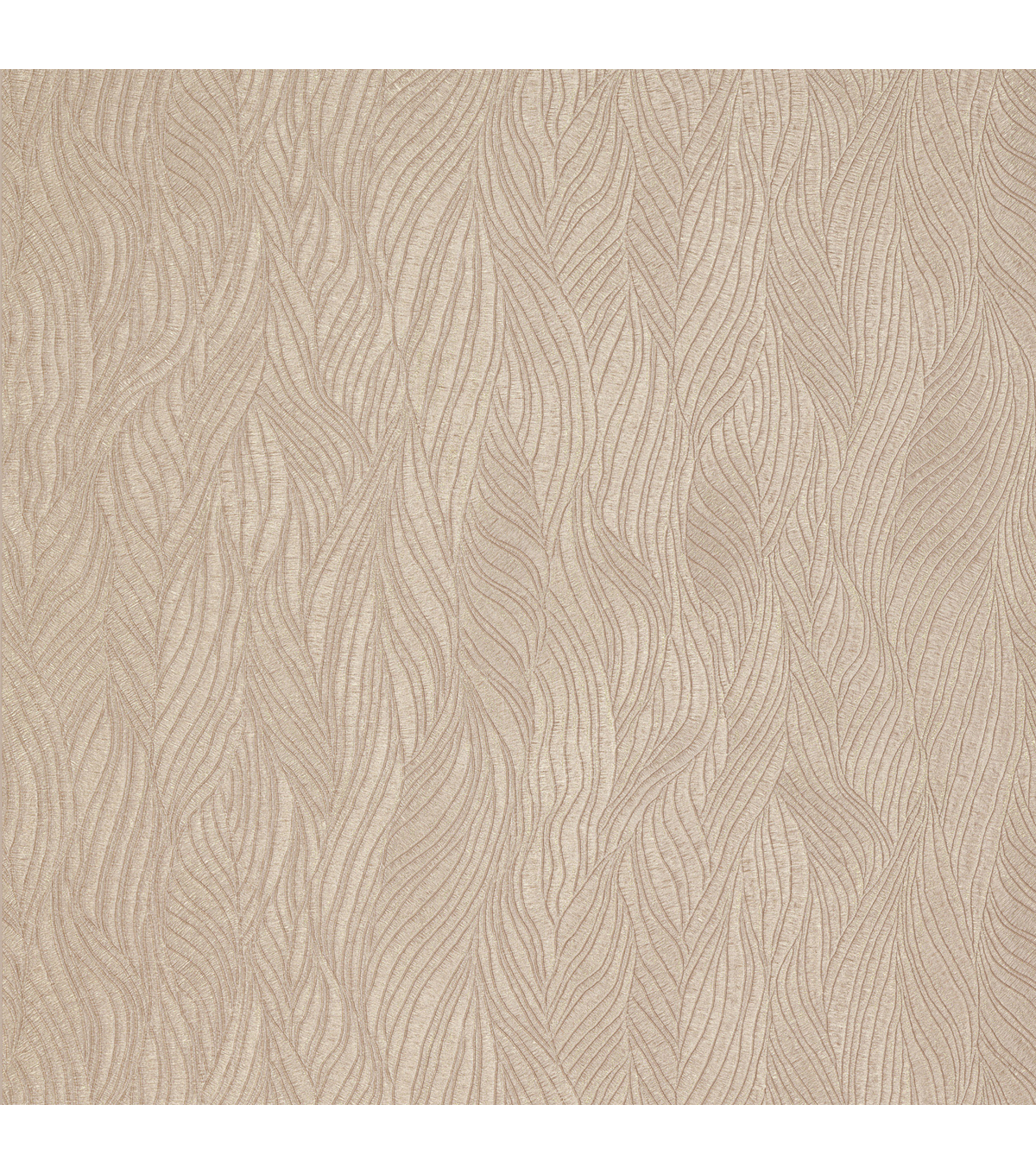 Nephi Taupe Swirling Texture Wallpaper