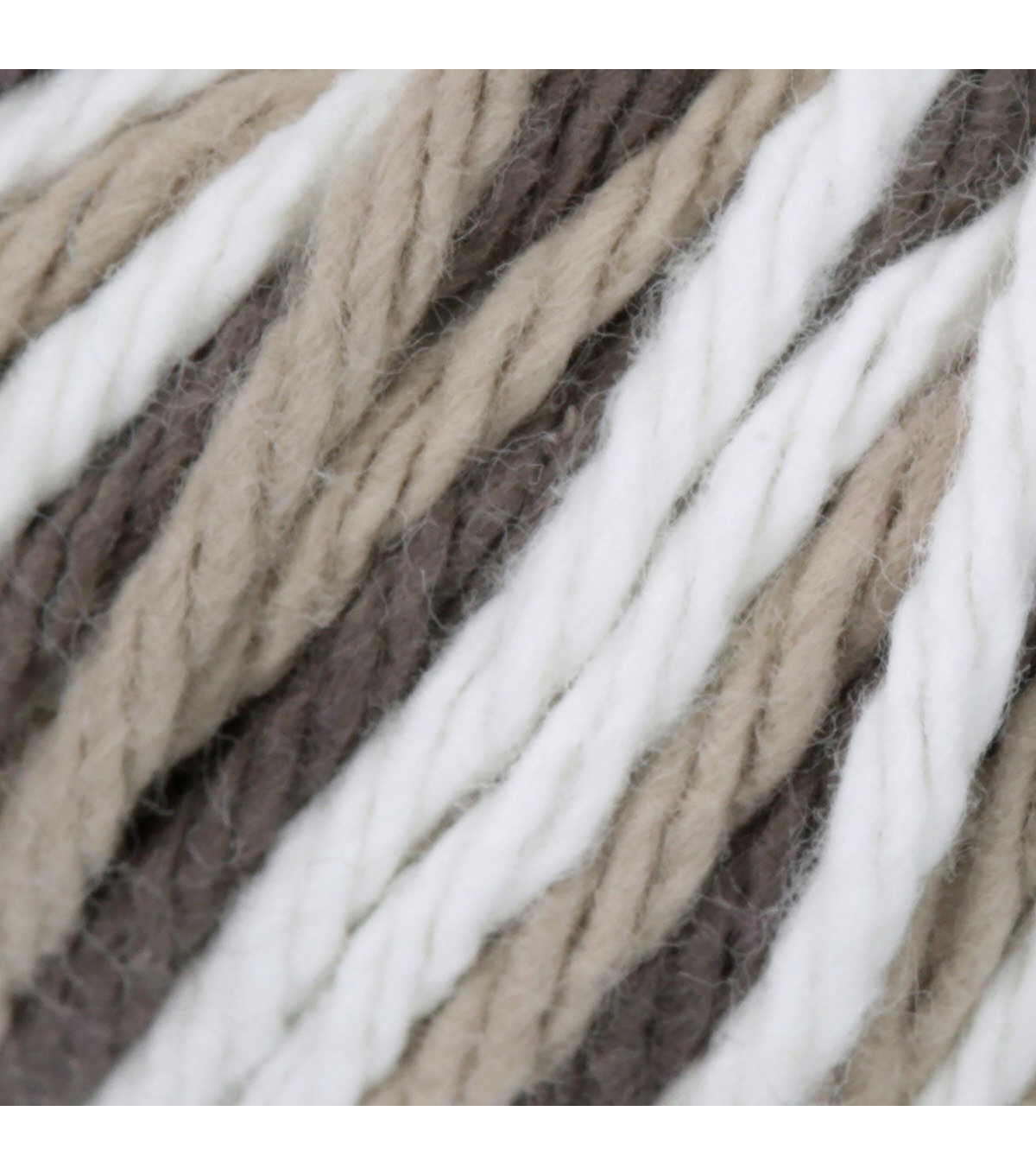 Lily Sugar\u0027n Cream Super Size Yarn, Chocolate Ombre
