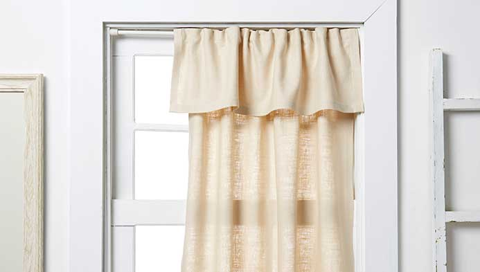 No-sew Window Treatment