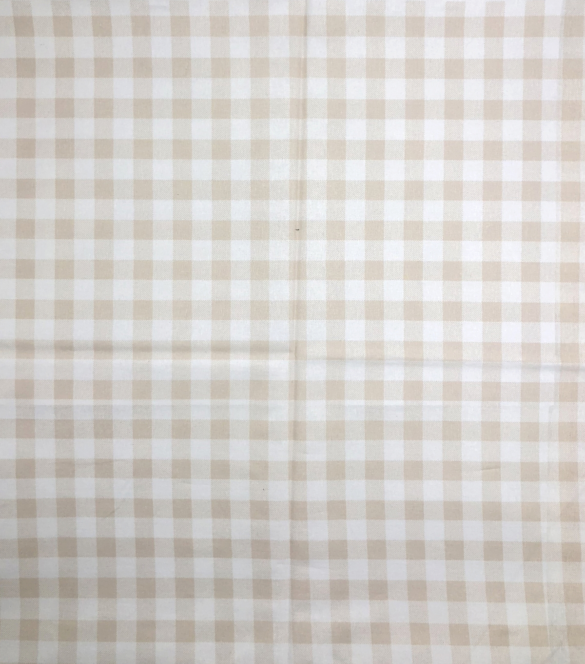 Keepsake Calico Cotton Fabric-Buffalo Check Tan & White