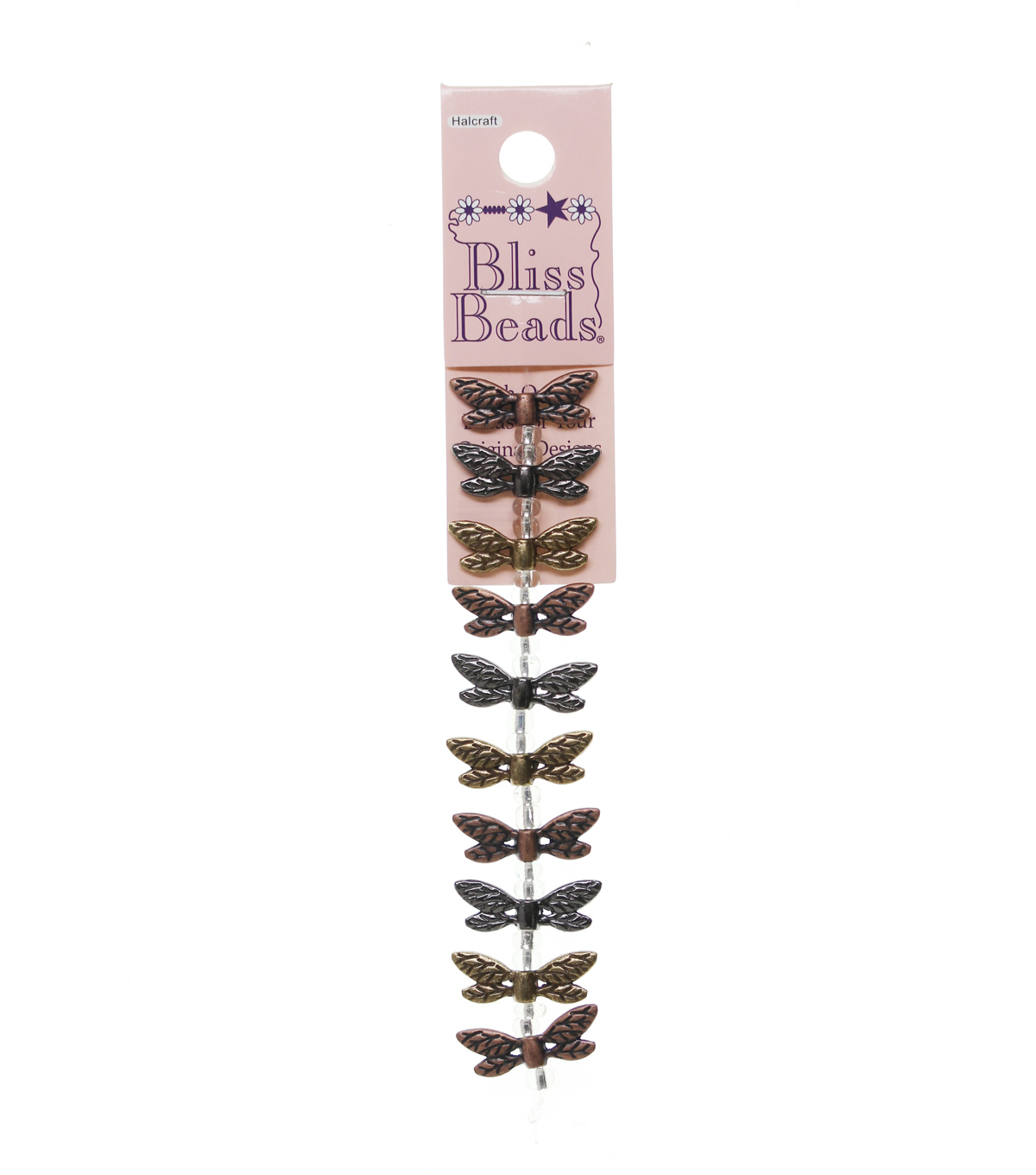 Bliss Beads Metal Dragonfly