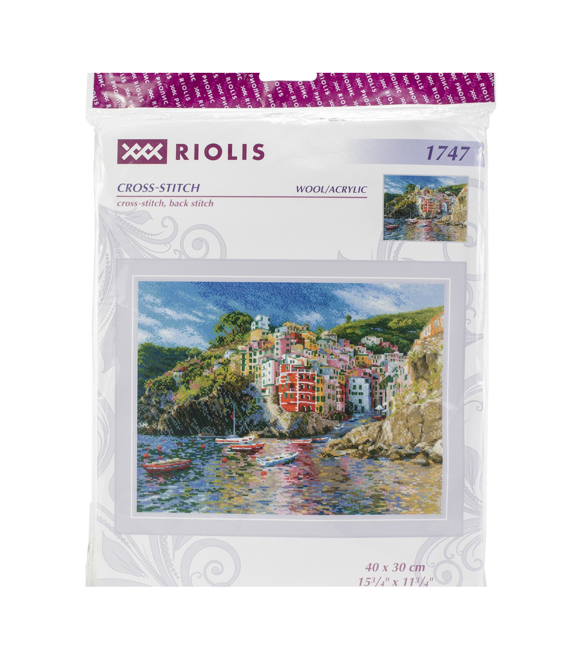 RIOLIS Counted Cross Stitch Kit-Liguria