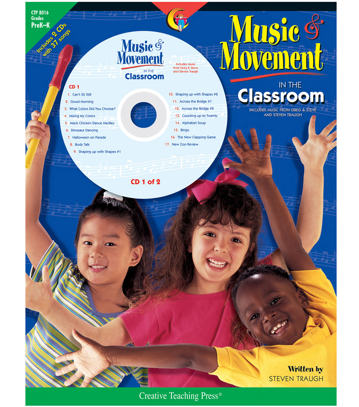 Creative Teaching Press Music & Movement in the Classroom Book & CD