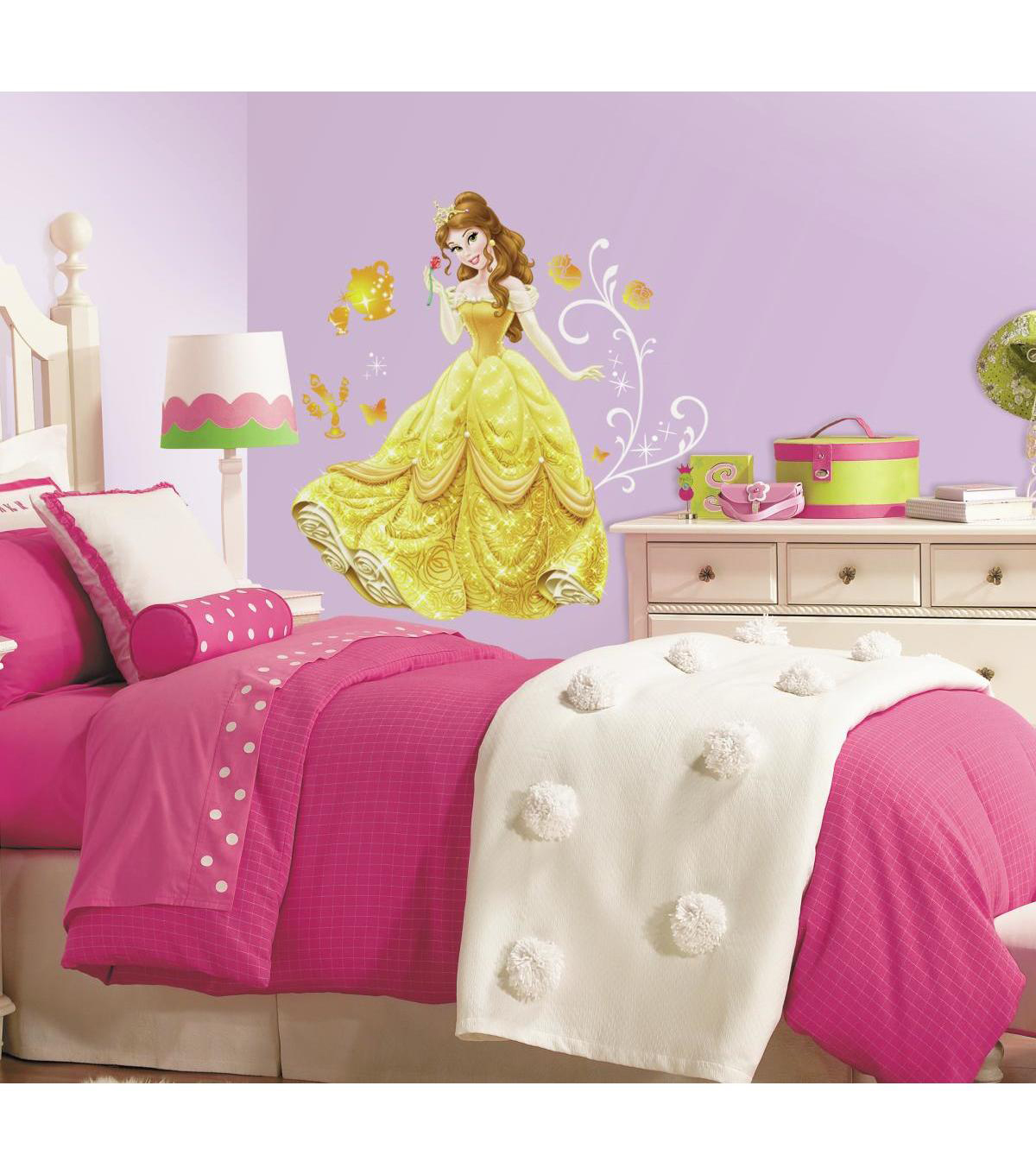 York Wallcoverings Peel & Stick Wall Decals-Disney Princess Belle