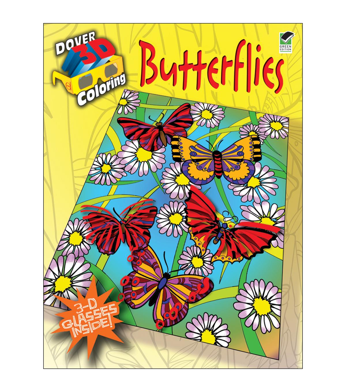 Dover Publications-Butterflies Coloring Book 3D | JOANN
