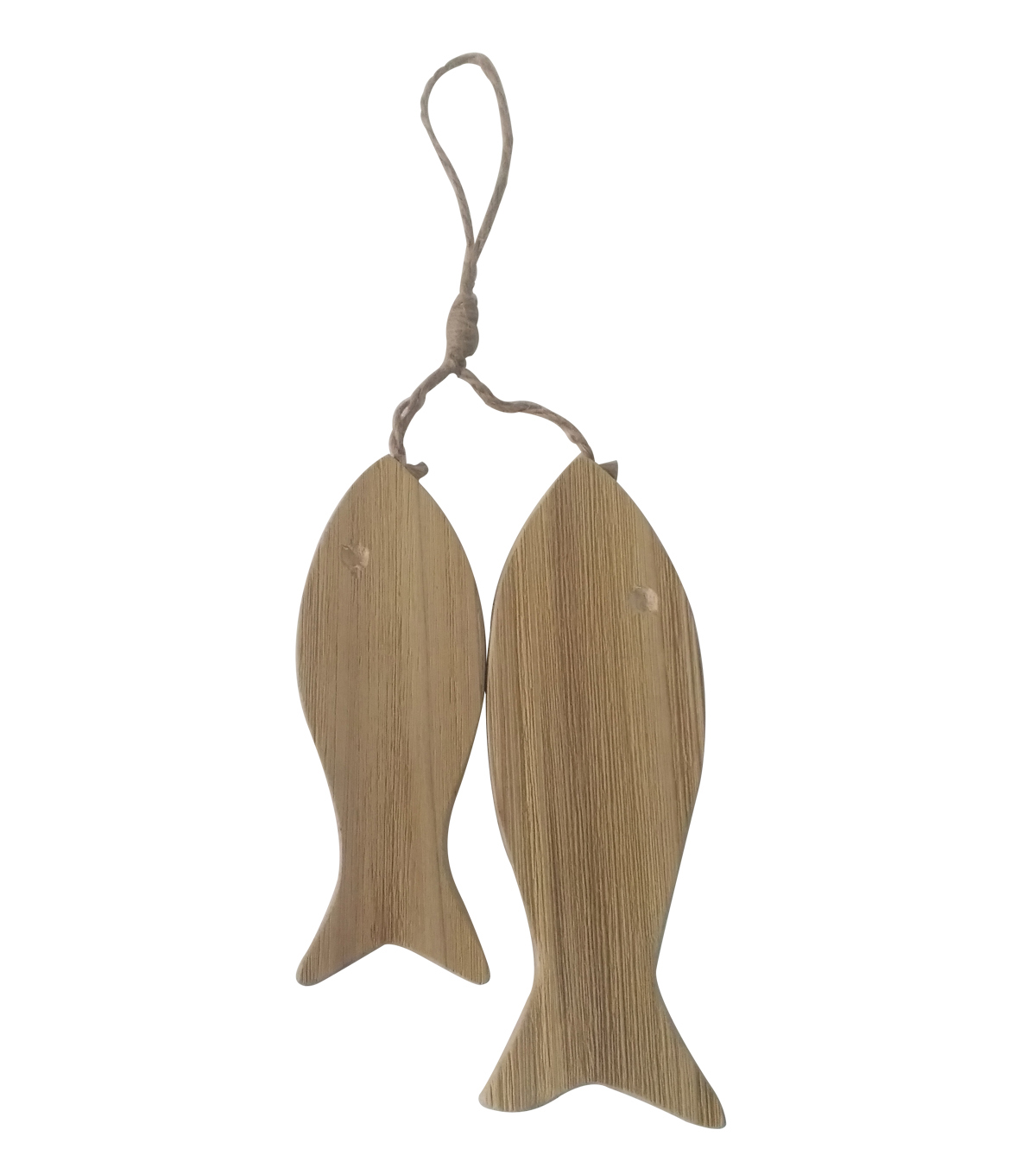 Camp Ann Wooden Fish Hanging Wall Decor