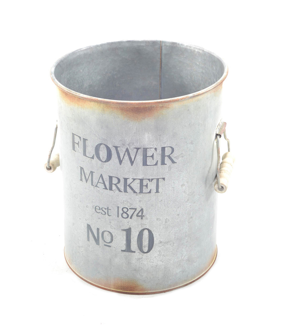 Bloom Room Small Metal Pot-Flower Market