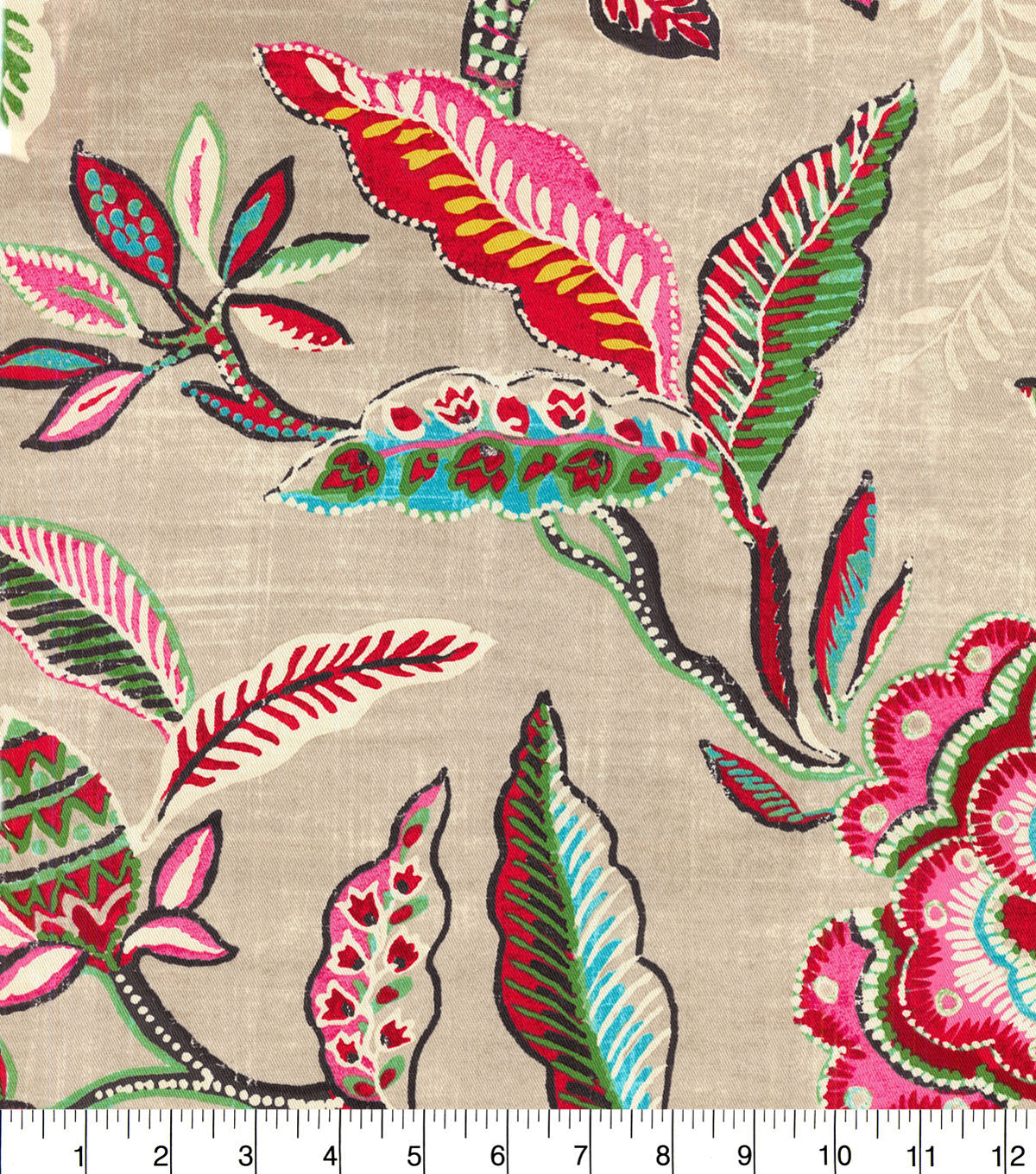 Waverly Upholstery Fabric 13x13\u0022 Swatch-Key of Life Jubilee