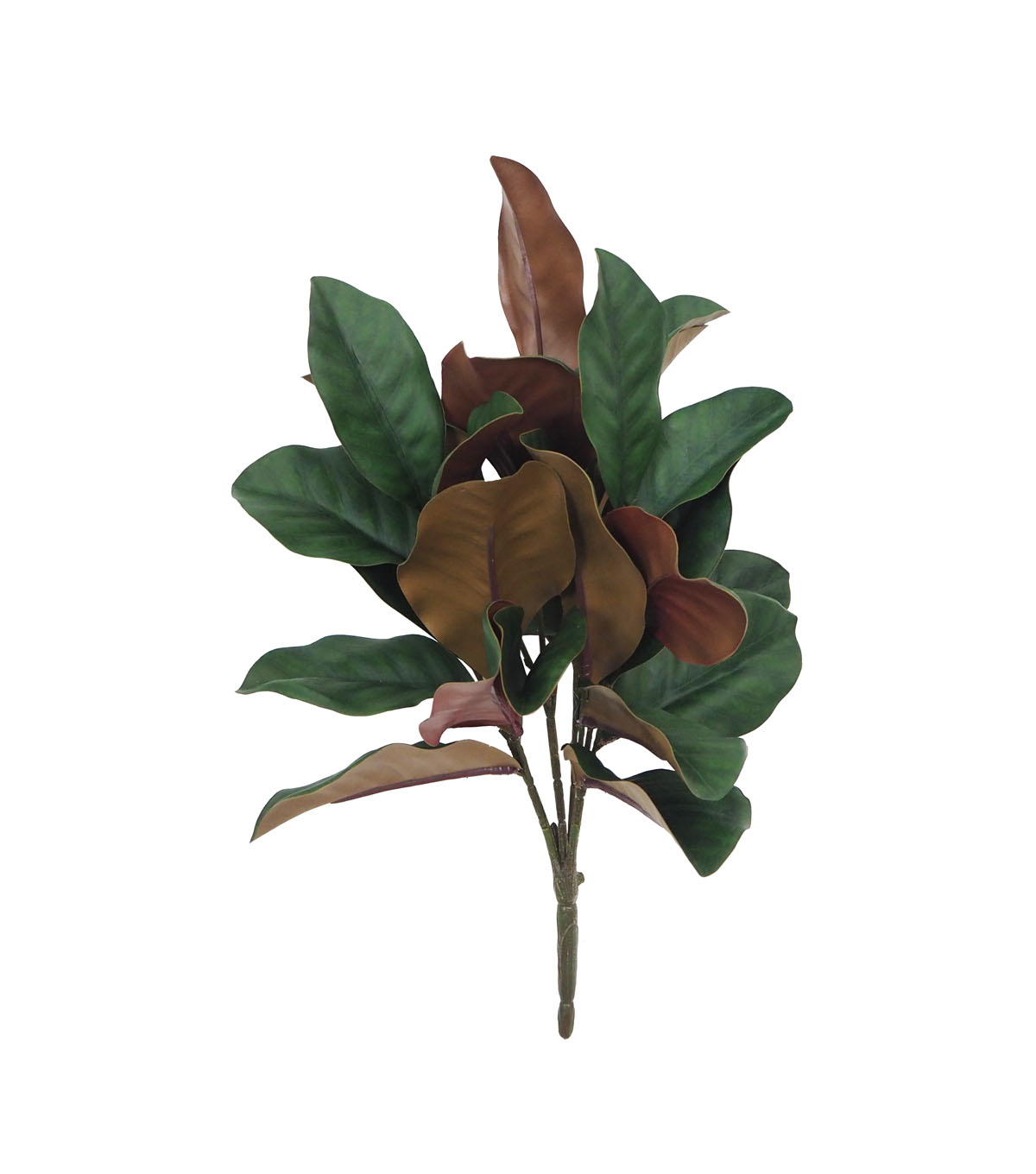 Handmade Holiday Christmas Homestead Magnolia Leaf Bush-Green