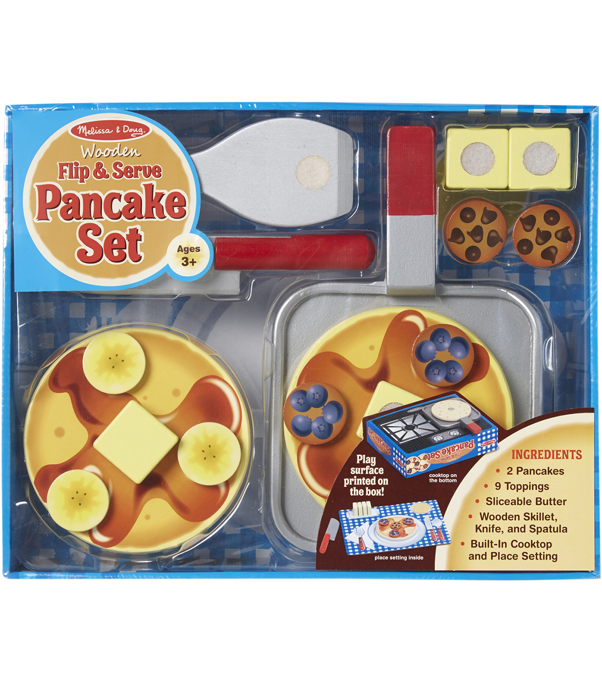 Melissa Doug Wooden Flip And Serve Pancake Set Joann