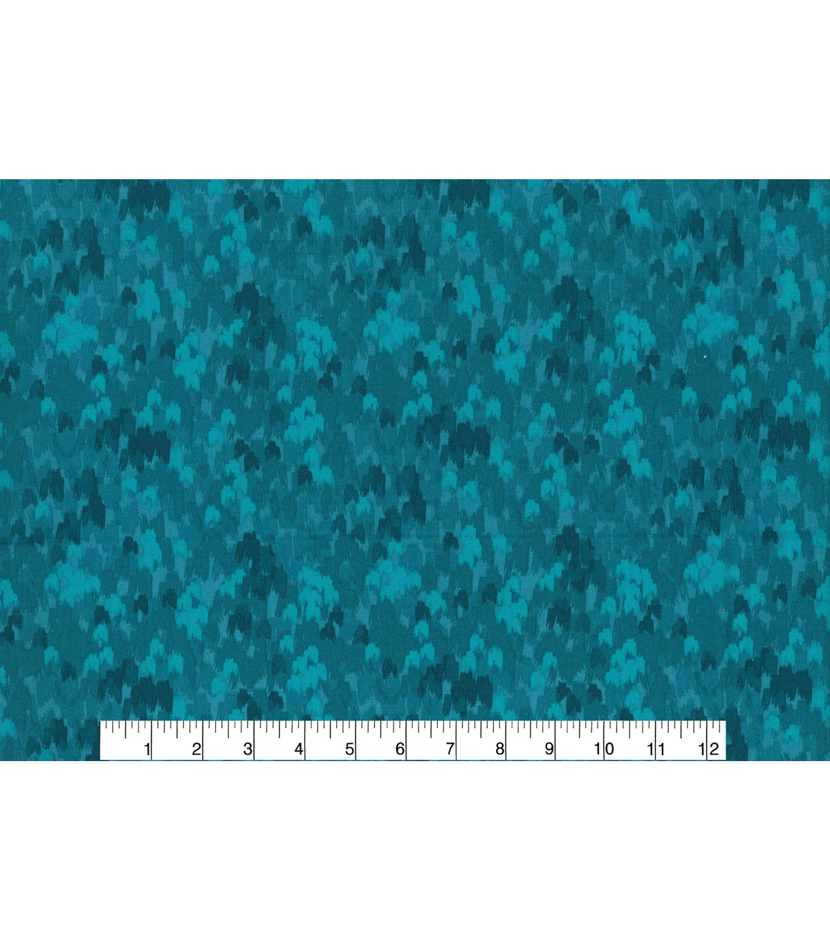 Keepsake Calico Cotton Fabric 43\u0022-Multi Teal Abstract Blender