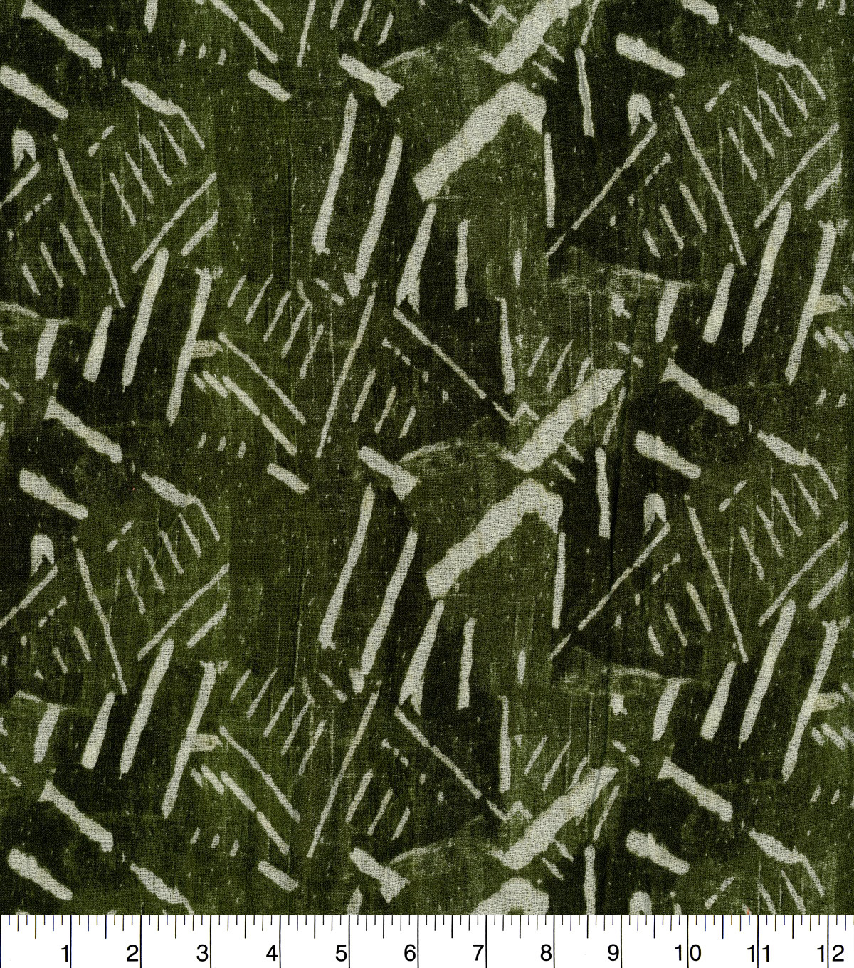 Earth Child Gauze Fabric 45\u0022-Palm Printed