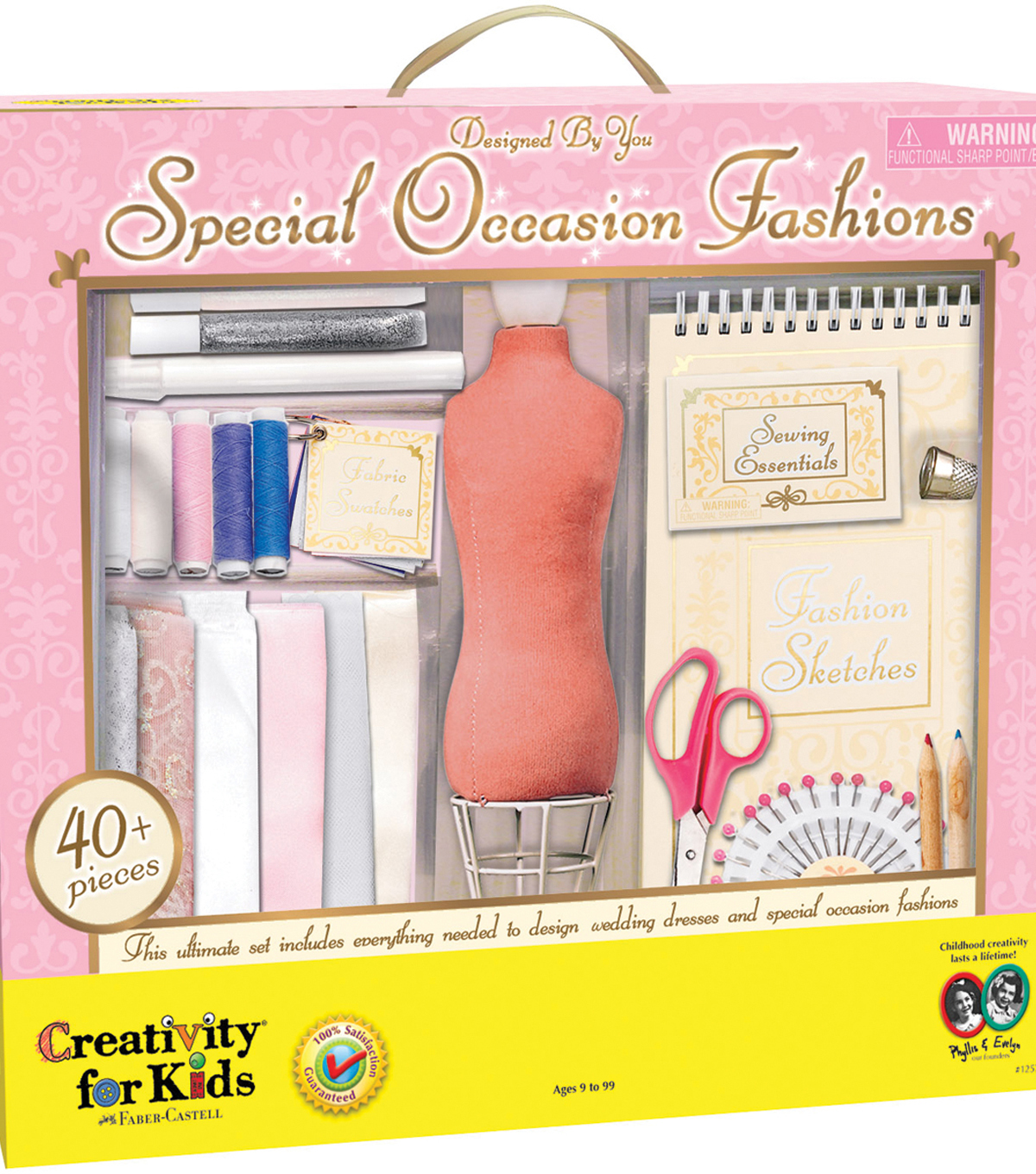 Creativity For Kids Designed By You Special Occasion Fashions Kit