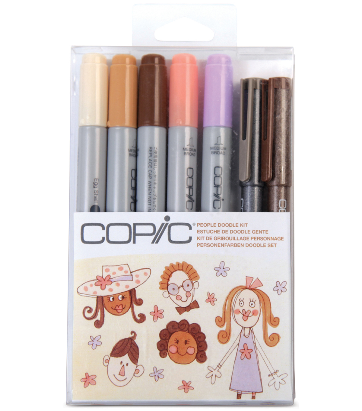 Copic Doodle Kit-People