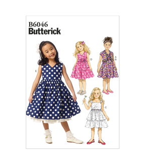 Butterick Child Dress-B6046