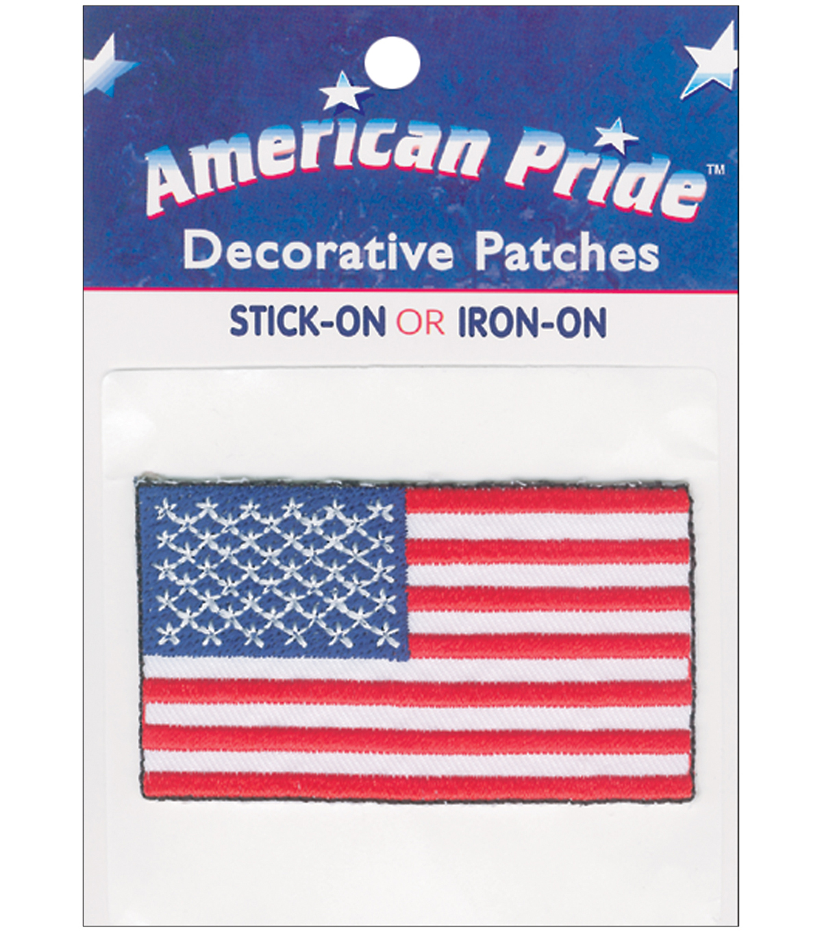 """1 Roll 2/"""" American Flag Packing Tape"""