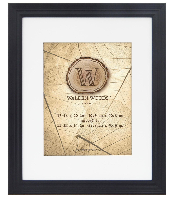 16x20 To 11x14 Walden Woods Black Wall Frame Joann