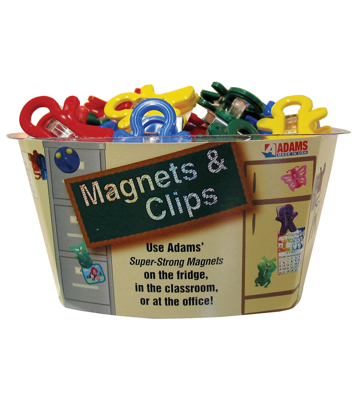 Magnet Man Magnetic Clip, Tub of 40