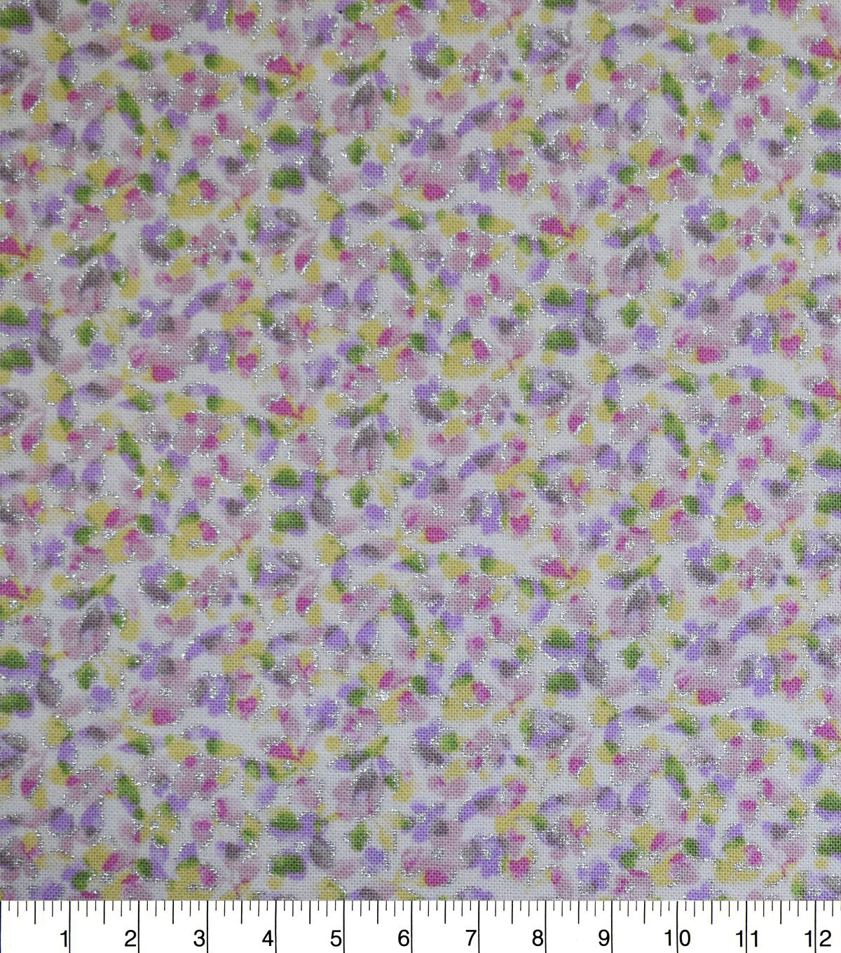 Premium Cotton Fabric -Mini Roses