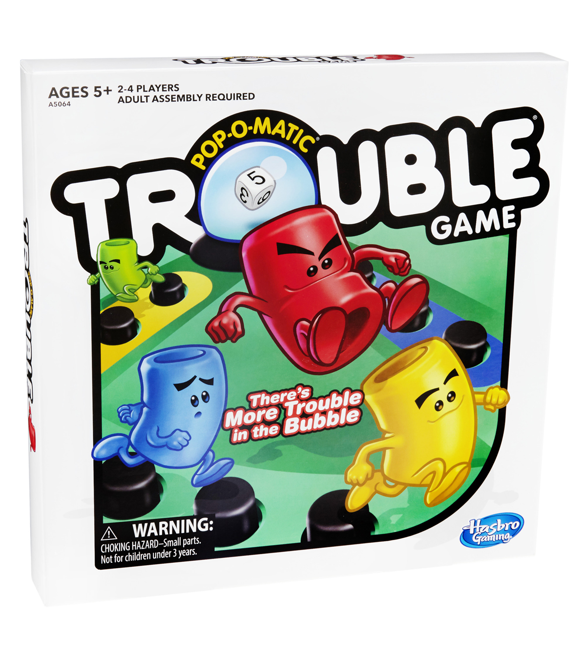 Hasbro Gaming Pop-O-Matic Trouble Game Kit