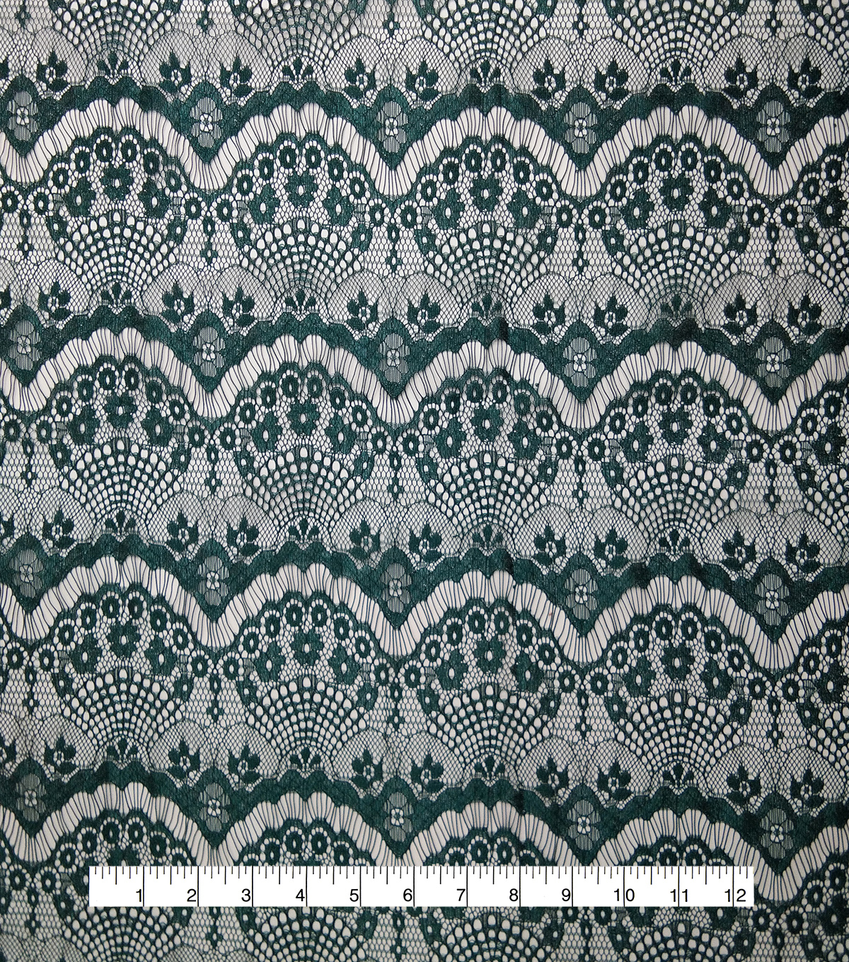 Casa Embellish Ember Eyelash Lace Fabric 56\u0027\u0027-Botanical Garden