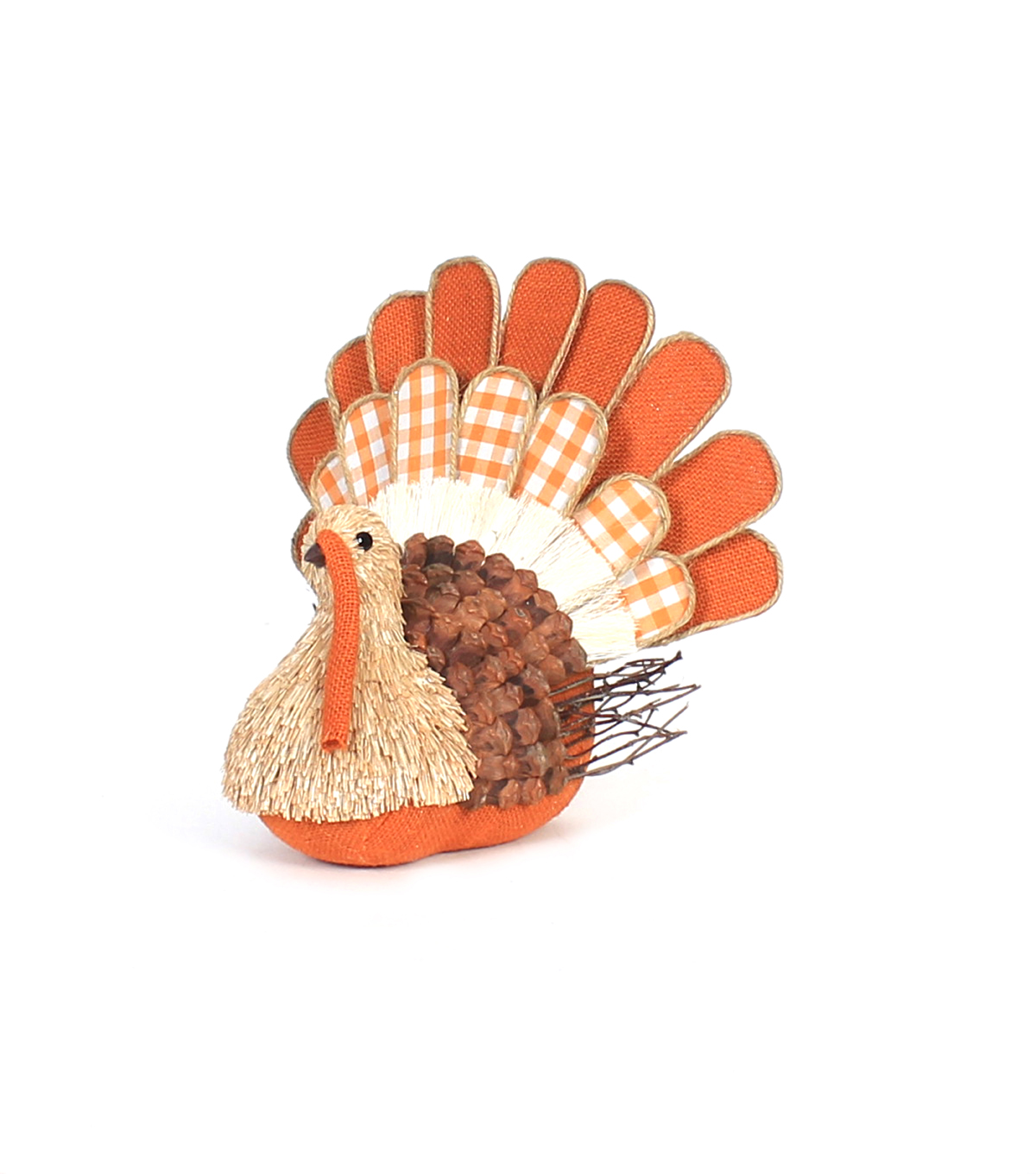Simply Autumn Sisal Turkey Decor