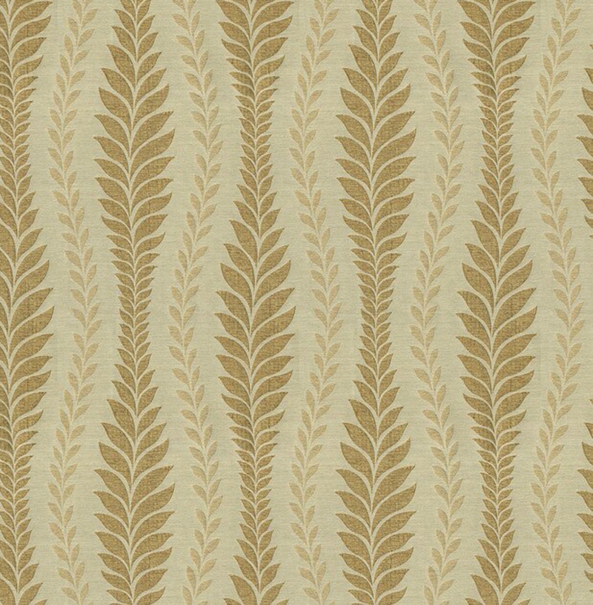 IMAN Home Sheer Fabric 56\u0022-Zahra Leaf/Topaz
