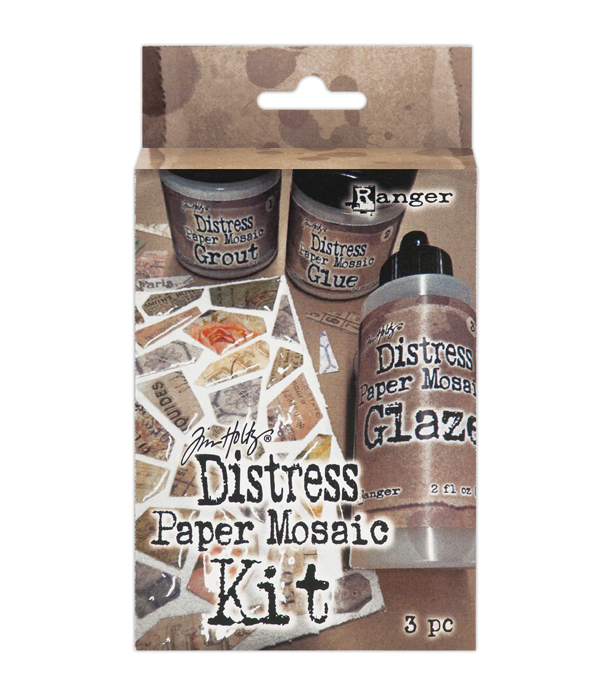 Tim Holtz Distress Paper Mosaic Kit