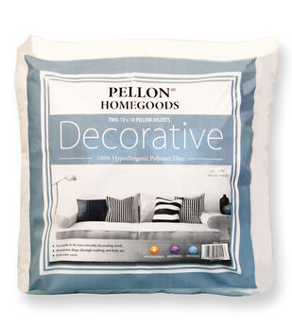 Decorative Twin Pack 18x18, 18x18 Twin Pack Pillow