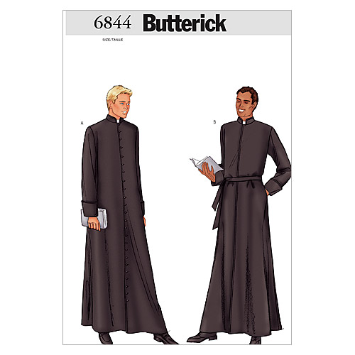 Butterick Mens Costumes-B6844