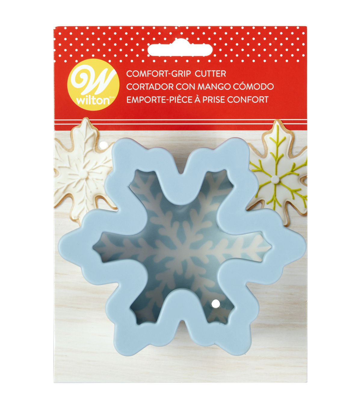Wilton Large Snowflake Comfort Grip Cookie Cutter