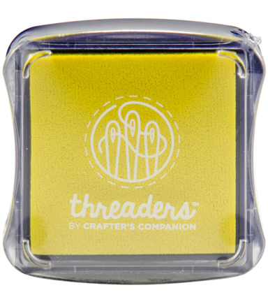 Crafter\u0027s Companion Threaders Fabric Ink Pad, Canary