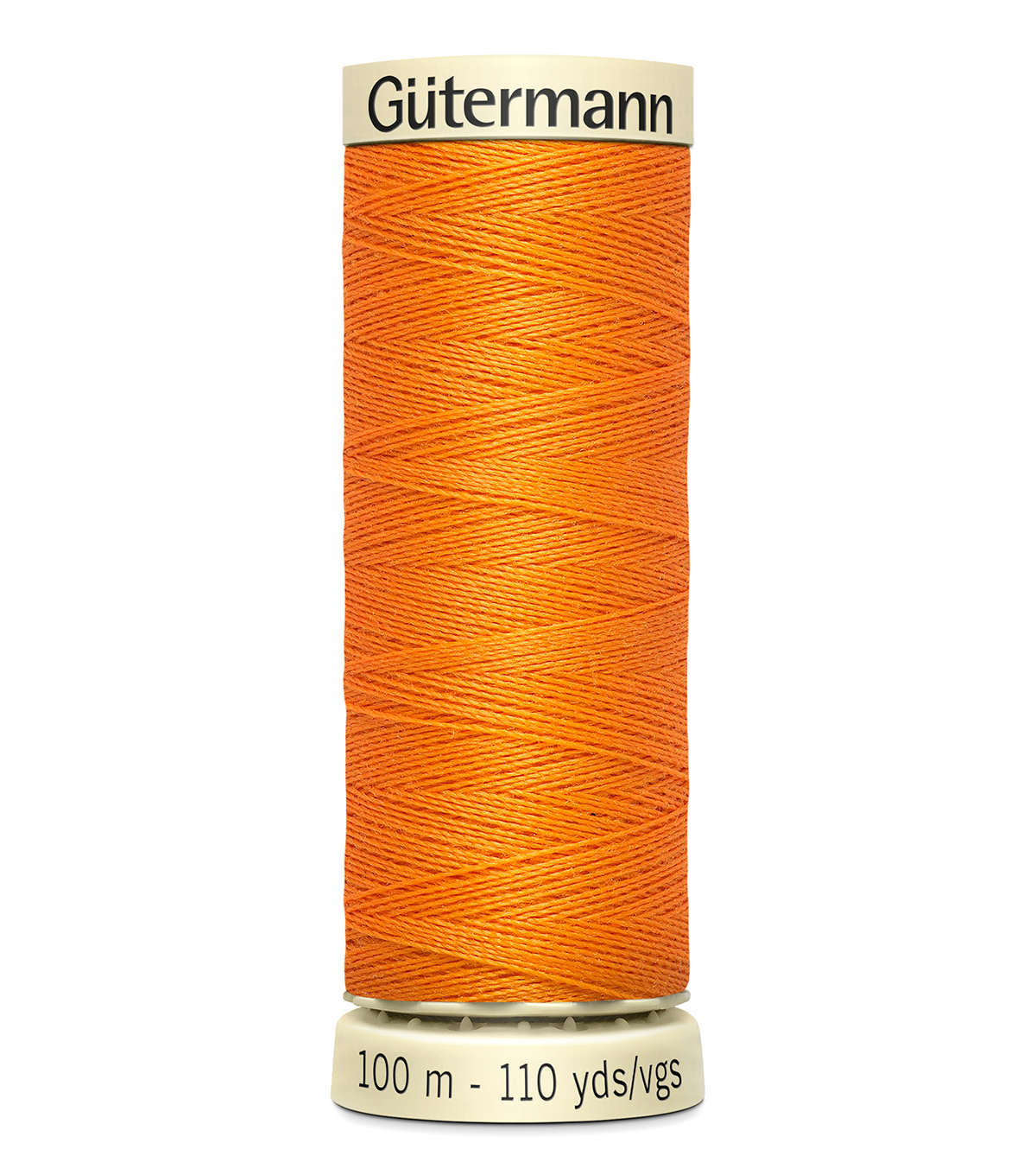 Gutermann Sew All Polyester Thread 110 Yards-Oranges & Yellows , Tangerin #462
