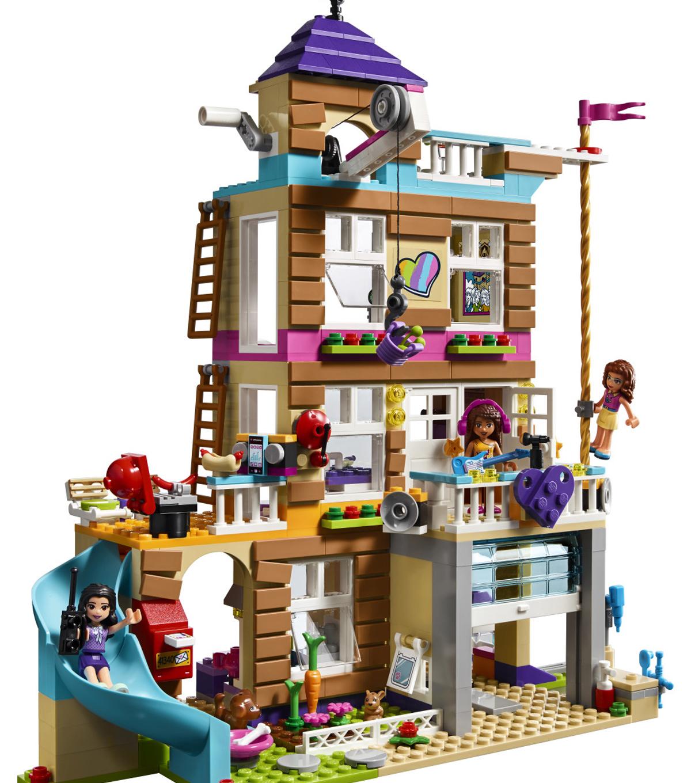 Lego Friends Original New Sticker Sheet Only for set 41340 Friendship House