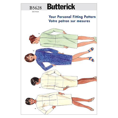 Butterick Womens Dress-B5628