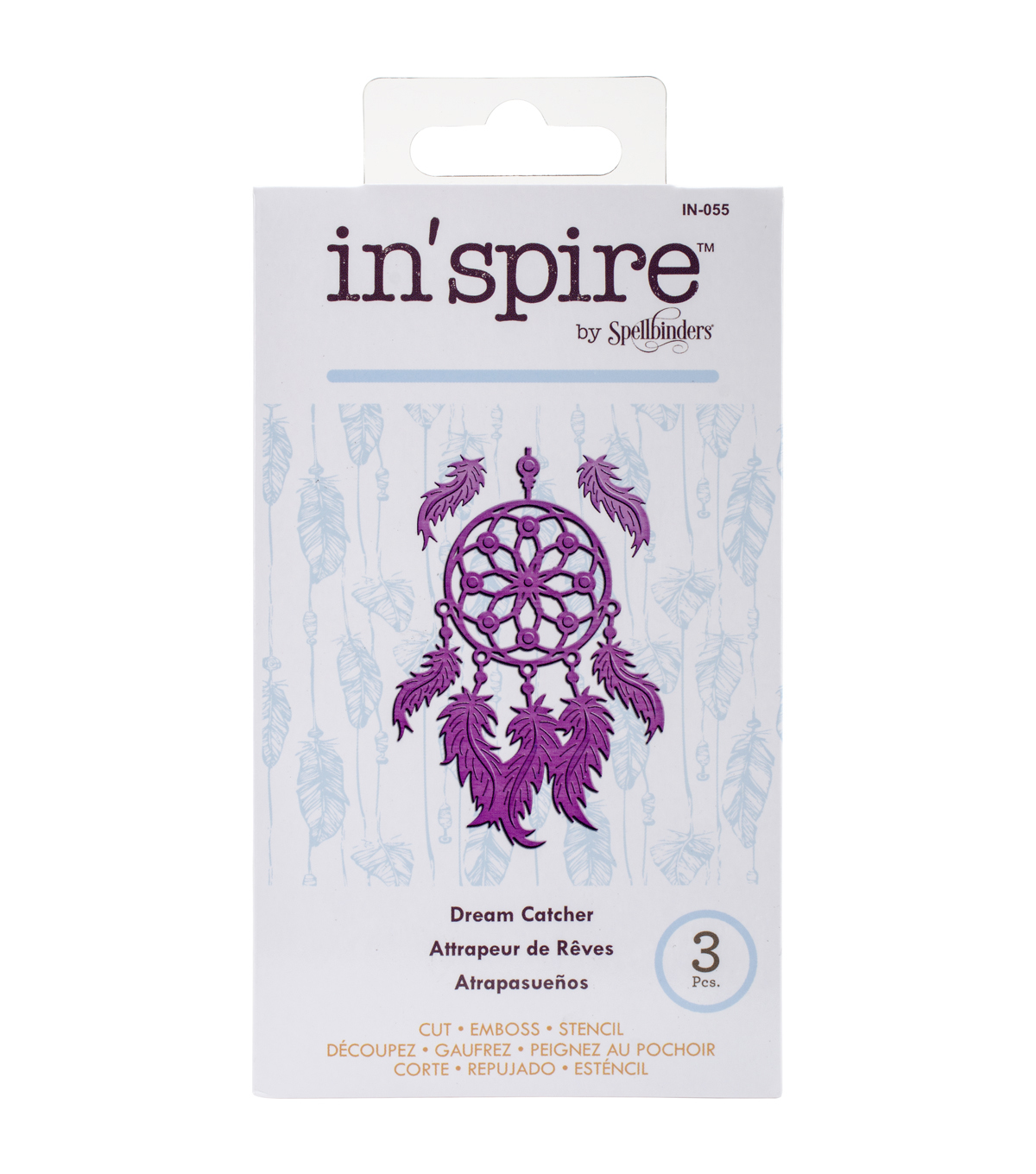 Spellbinders Shapeabilities In\u0027spire Dream Catcher Die