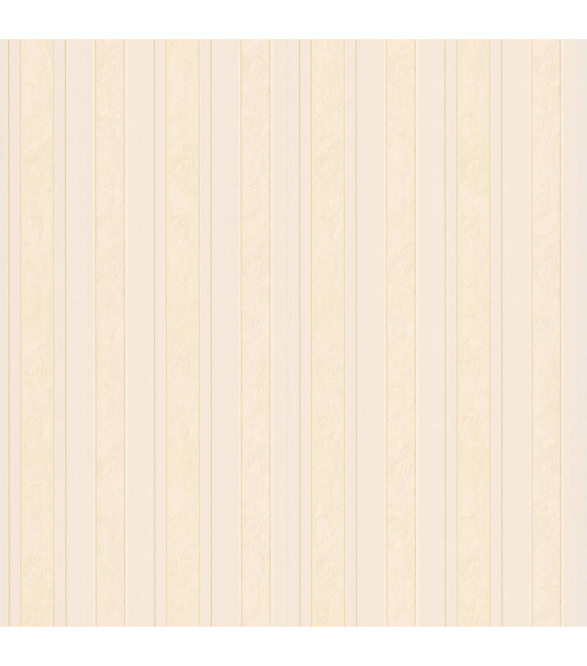 Kingsbury Cream Satin Stripe Wallpaper Sample