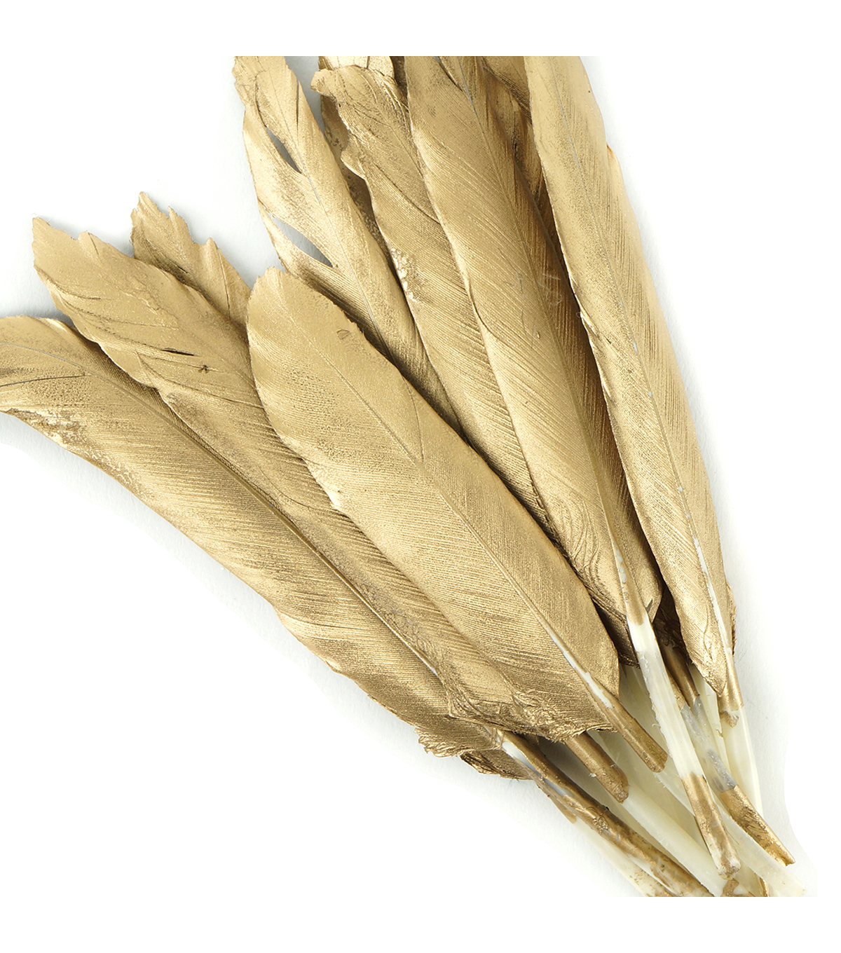 Duck Gosse Gilded Feathers-Gold