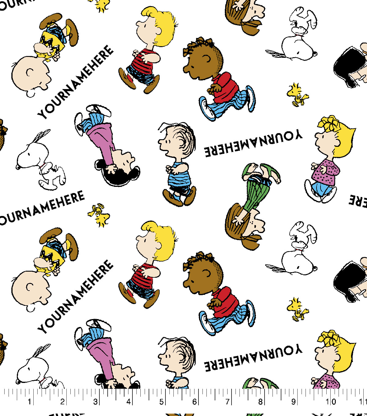 Peanuts Print Fabric by Springs Creative-Editorial
