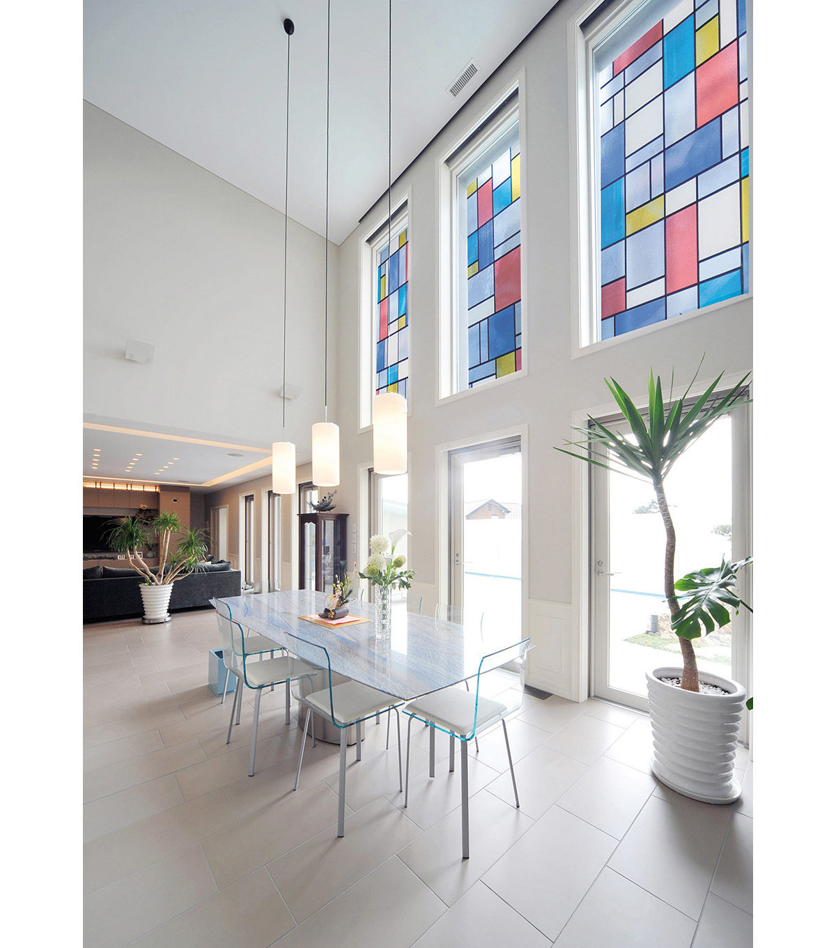 Peel & Stick Window Film-Mondrian