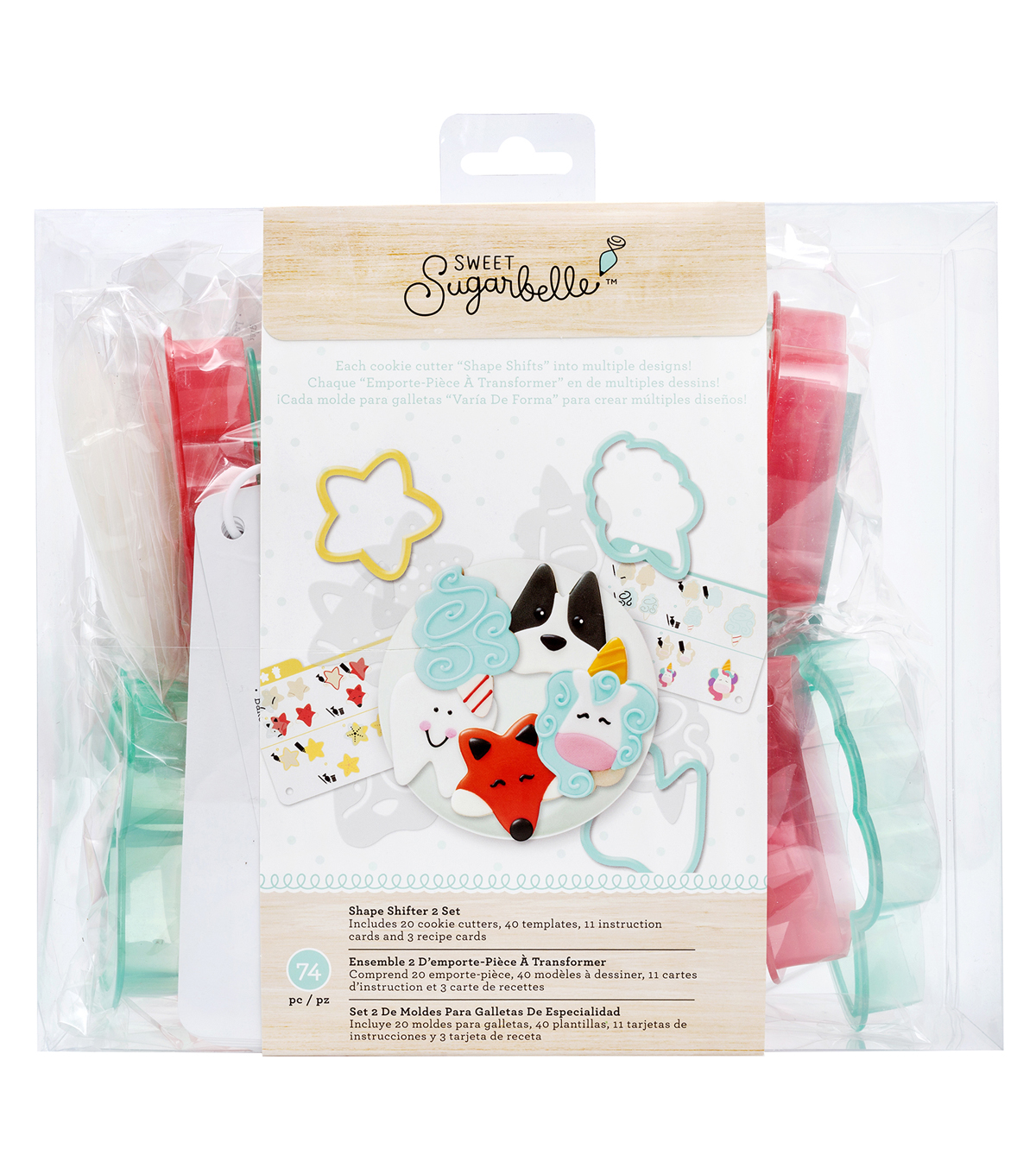 Sweet Sugarbelle Spring Shape Shifter 2 Cookie Cutter Set