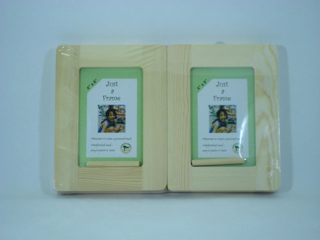 Wood 4 pack Value Frames