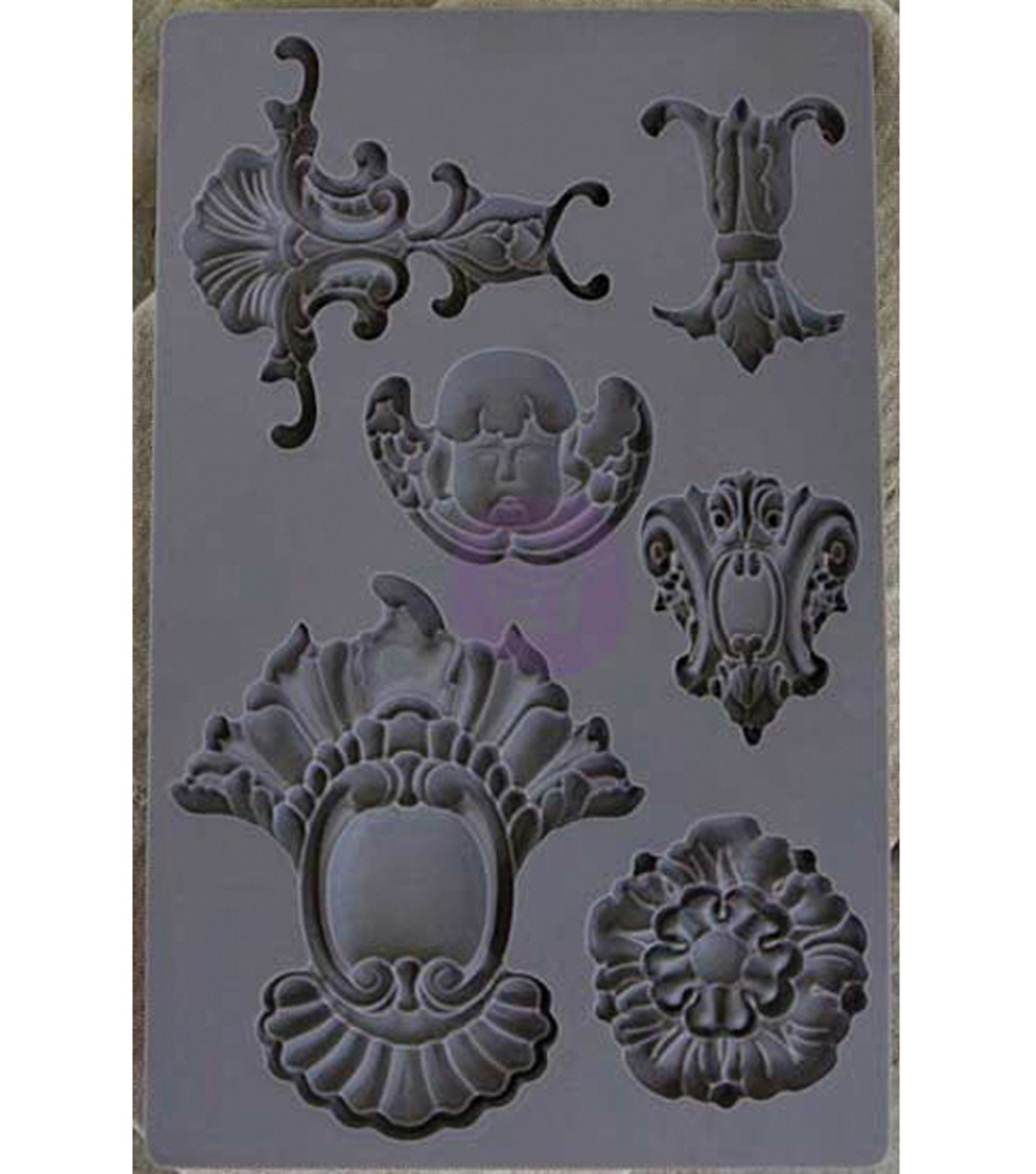 Prima Marketing Iron Orchid Designs Vintage Art Decor Mould-Baroque #2