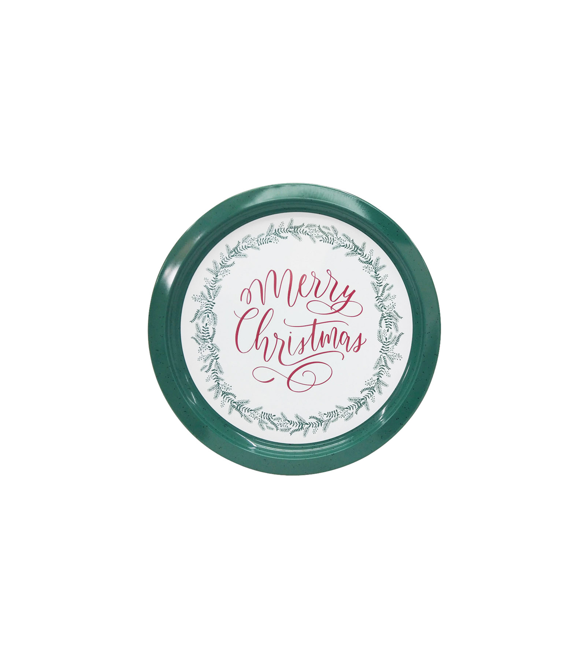 Maker\u0027s Holiday Christmas Cookie Platter-Merry Christmas